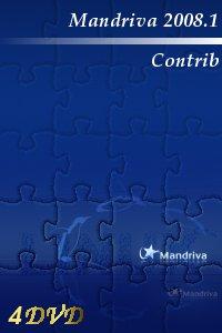 Mandriva Linux 2008 Contrib i586 - 4 DVD