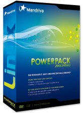 Linux Mandriva PowerPack 2008 Spring DVD