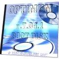 Обложка загрузочного DVD-диска со спасательным набором программ - Optimum v.7.04.10 Boot DVD